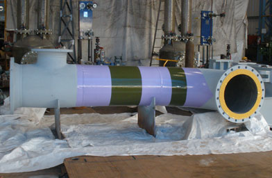 Prefabricated spools in Nickel coated pipes