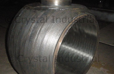 Ball Cladding in Inconel